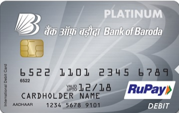 BOB emv chip debit card