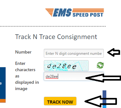 Speed post tracking