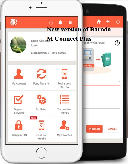 baroda m connect plus new version