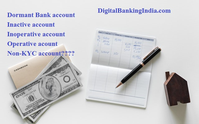 Dormant account inactive bank account